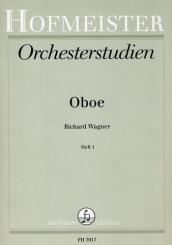 Wagner, Richard: Orchesterstudien für Oboe Band 1