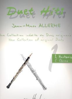 Allerme, Jean-Marc: Duet Hits pour 2 hautbois (piano ad lib), 3 partitions