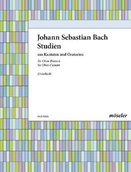 Bach, Johann Sebastian: Bachstudien aus Kantaten und Oratorien für 1-2 Oboen d'amore