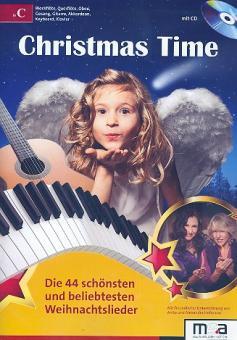 Christmas Time (+CD) für C-Instrument (Blockflöte/Flöte/Oboe/Gesang/Gitarre/, Tasteninstrument)