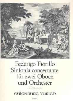 Fiorillo , Fedorico: Sinfonia concertante für 2 Oboen und Orchester für 2 Oboen und Klavier