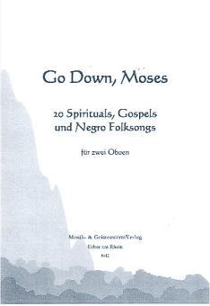 Go down Moses für 2 Oboen Spielpartitur