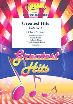 Greatest Hits vol.6 for 2 oboes and piano (percussion ad lib)