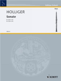 Holliger, Heinz: Sonate für Oboe